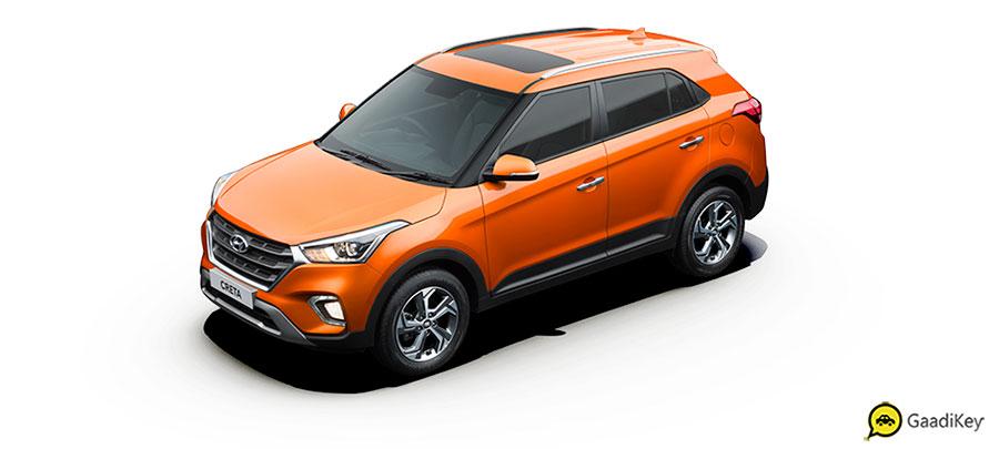 2019 Hyundai Creta Passion Orange Color - New 2019 Creta Orange