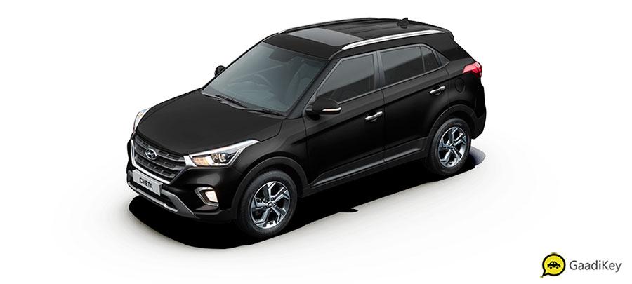 2019 Hyundai Creta Phantom Black Color - New 2019 Creta Black Color