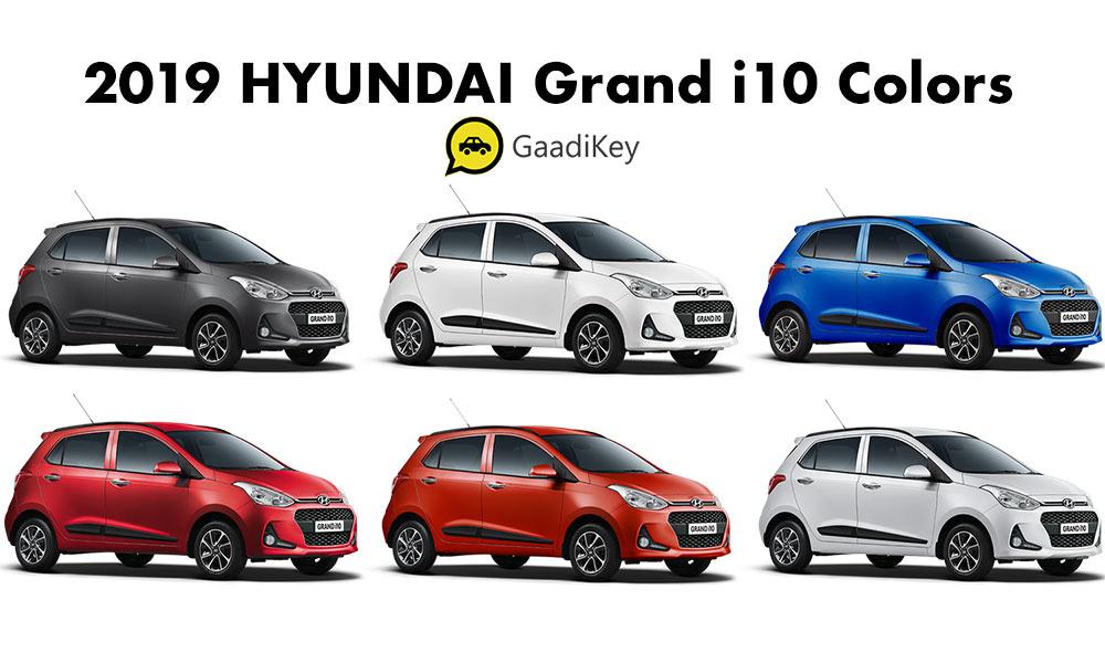 2019 Hyundai Grand i10 Colors - New 2019 Hyundai Grand i10 All Colors