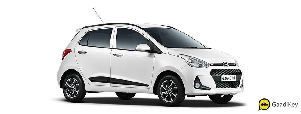 2019 Hyundai Grand i10 White Color - Polar White Color