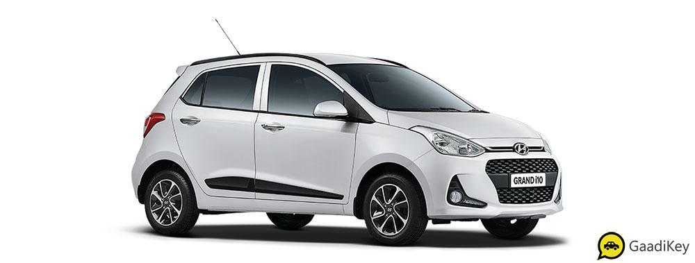 2019 Hyundai Grand i10 Silver Color - Typhoon Silver Color