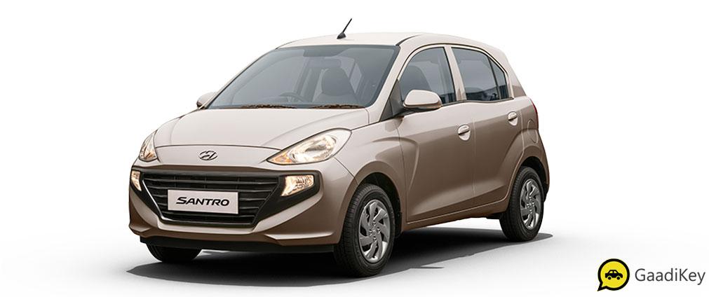2019 Hyundai Santro Imperial Beige Color - 2019 Hyundai Santro Beige Color - 2019 Hyundai Santro Brown Color