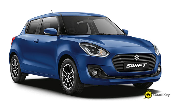 2019 Maruti Swift Blue Color - 2019 Swift Midnight Blue Color