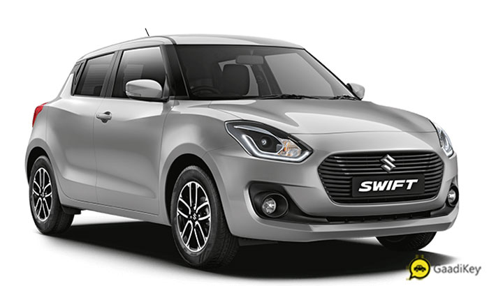2019 Maruti Swift Silver Color - New 2019 Swift Silky Silver Color Option
