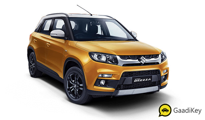 2020 Maruti Vitara Brezza Yellow and White Dual tone color - 2020 Maruti Brezza Yellow and White Dual tone
