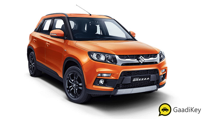 2020 Maruti Vitara Brezza Autumn Orange Color - 2020 Maruti Brezza Orange Color