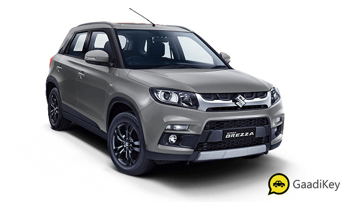 2020 Maruti Vitara Brezza Premium Silver Color - 2020 Maruti Brezza Silver Color option