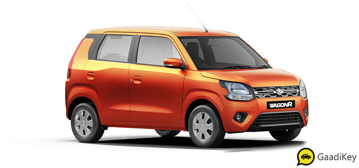 2019 Maruti Wagon R Orang Color - New 2019 Wagon R Orange Autumn Orange Color