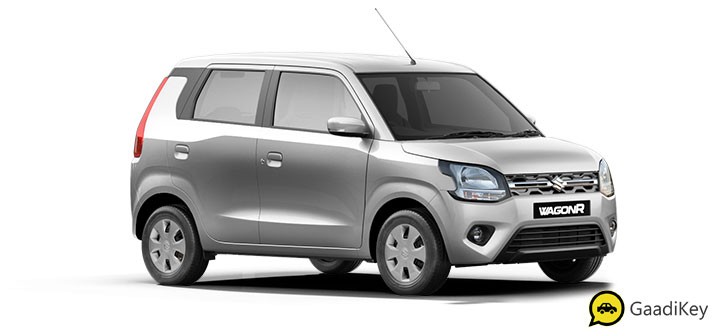 2019 Maruti Wagon R Silky Silver Color - 2019 Maruti Wagon R Silver Color