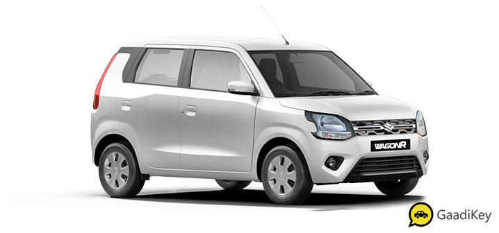 2020 Maruti Wagon R White Color - Superior White Color  - 2020 WagonR White color variant new model