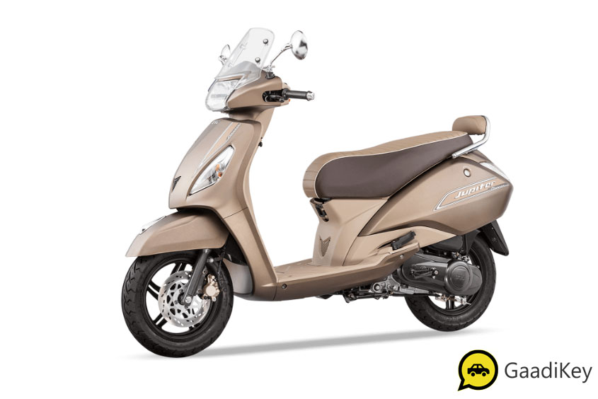 2019 TVS Jupiter Autumn Brown Color - 2019 TVS Jupiter Classic Brown Color - 2019 model Jupiter Classic Brown Color