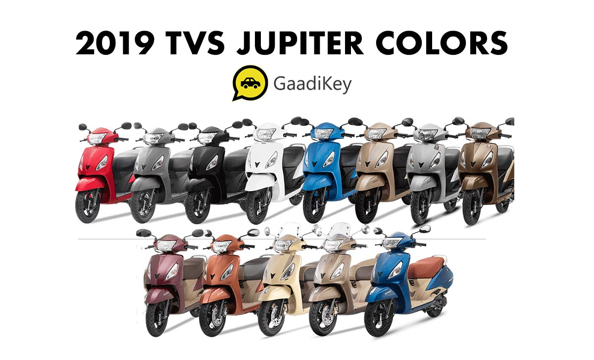 TVS Jupiter 2019 Model All Colors - New 2019 Model TVS Jupiter All Colors - New 2019 Jupiter All Color Options 2019 Model Jupiter All Color