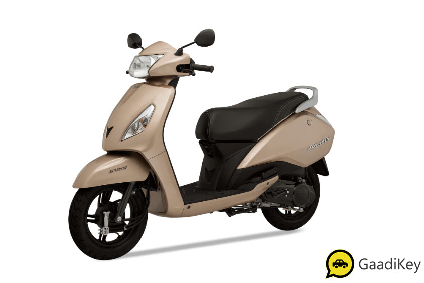 2019 TVS Jupiter Mystic Gold Color - 2019 TVS Jupiter Gold Color - 2019 Model Jupiter Gold Color