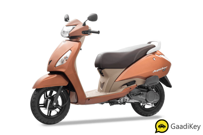 2019 TVS Jupiter Stallion Brown Color - 2019 TVS Jupiter Brown Color - 2019 Model Jupiter Brown Color
