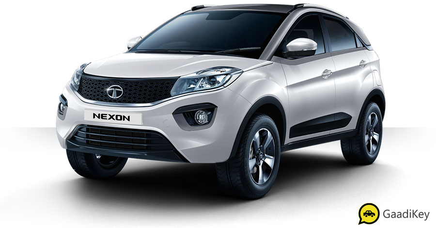 2019 Tata Nexon Calgary White Color - 2019 Tata Nexon White Color