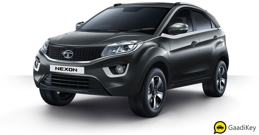 All New 2019 Tata Nexon in Grey Color