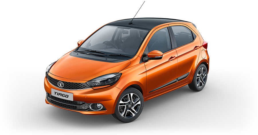 2019 Tata Tiago Canyon Orange Color - 2019 Tata Tiago Orange Color