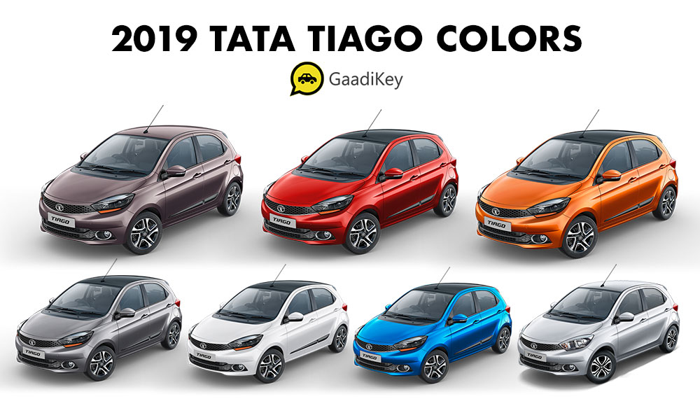 2019 Tata Tiago Colors - New 2019 Tiago Color variants