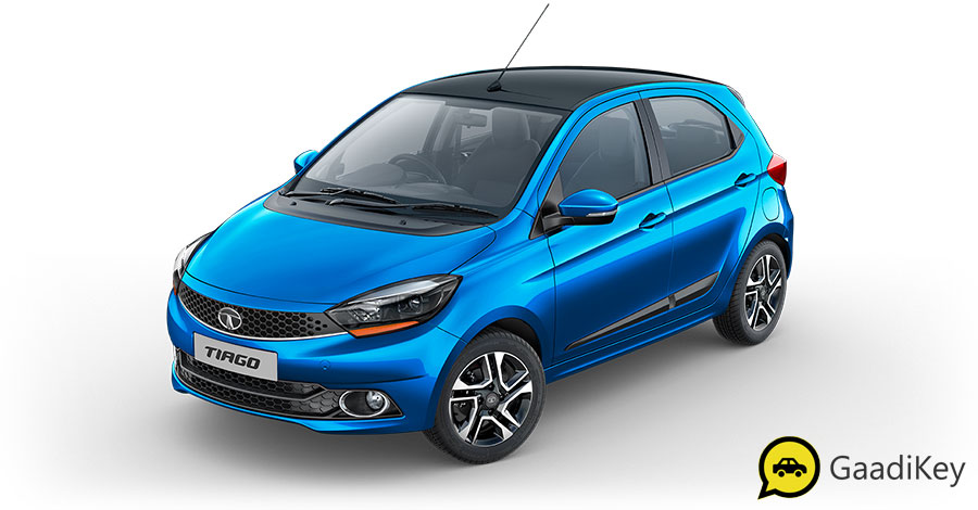 2019 Tata Tiago Blue Color Option - New 2019 Tiago Ocean Blue Color Variant