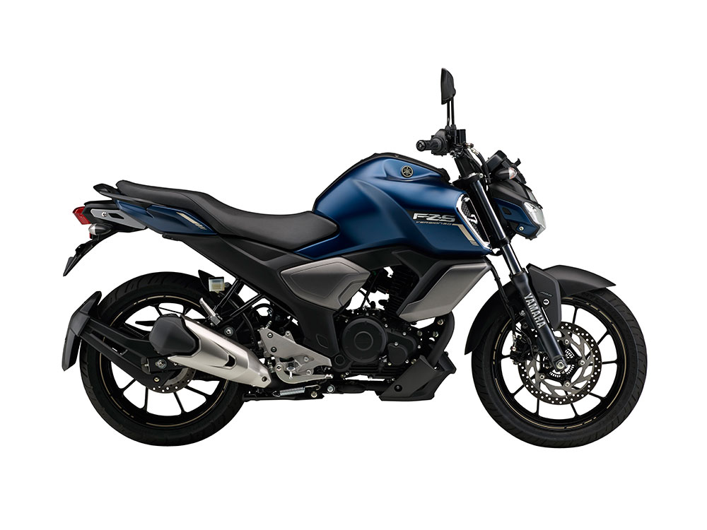 Yamaha FZS FI V3.0 Dark Matt Blue Color