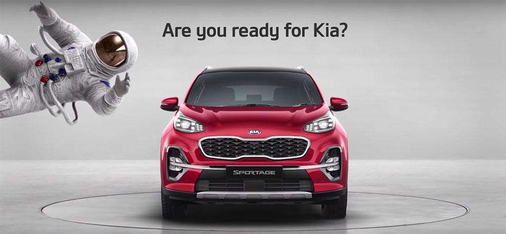 New Kia Sportgage Ad