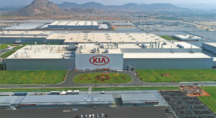 2019 Kia Production Plant Penukonda Anantpur