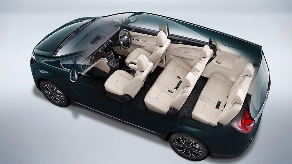 Mahindra Marazzo M8 variant - 8 Seater Configuration