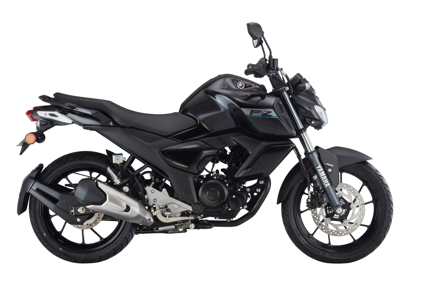 New Yamaha FZ FI V3.0 Metric Black color - New Yamaha FZ V3 ABS Black color Metric Black