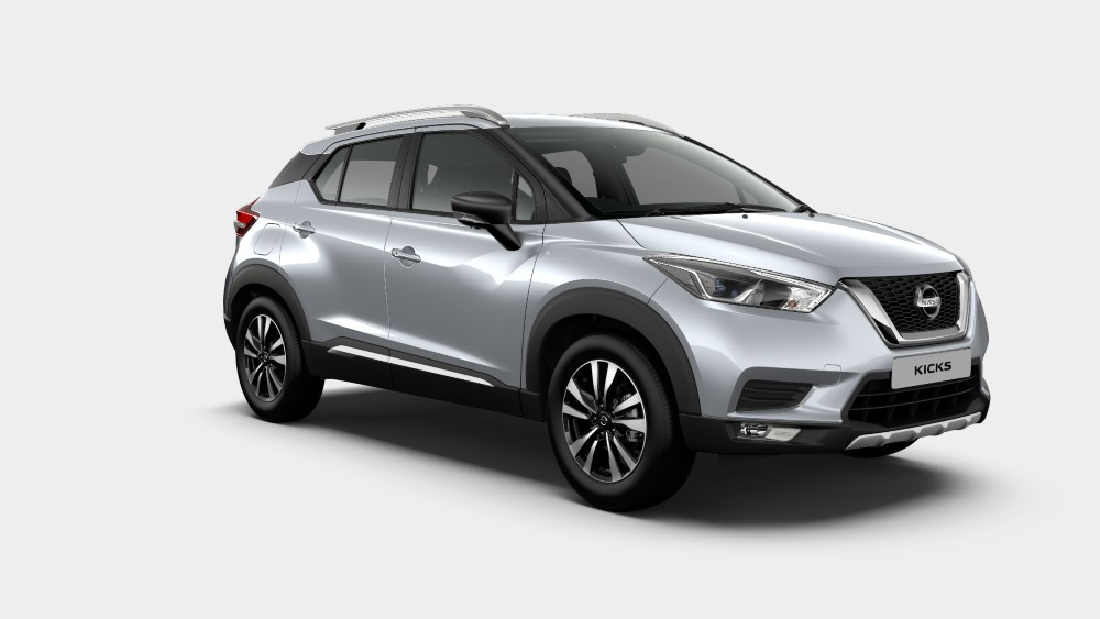 Nissan Kicks Blade Silver Color