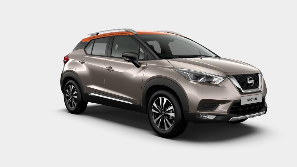 Nissan Kicks Bronze Grey Color