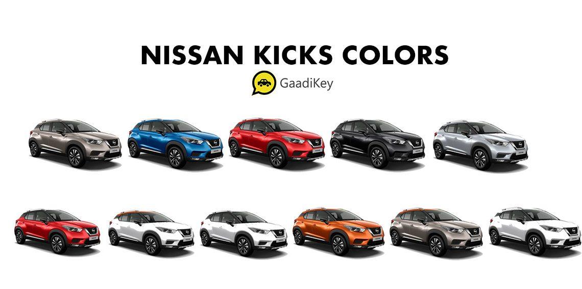 Nissan kicks colores