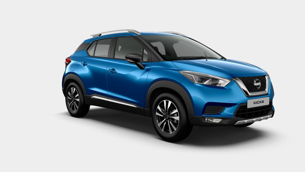 Nissan Kicks Deep Blue Color