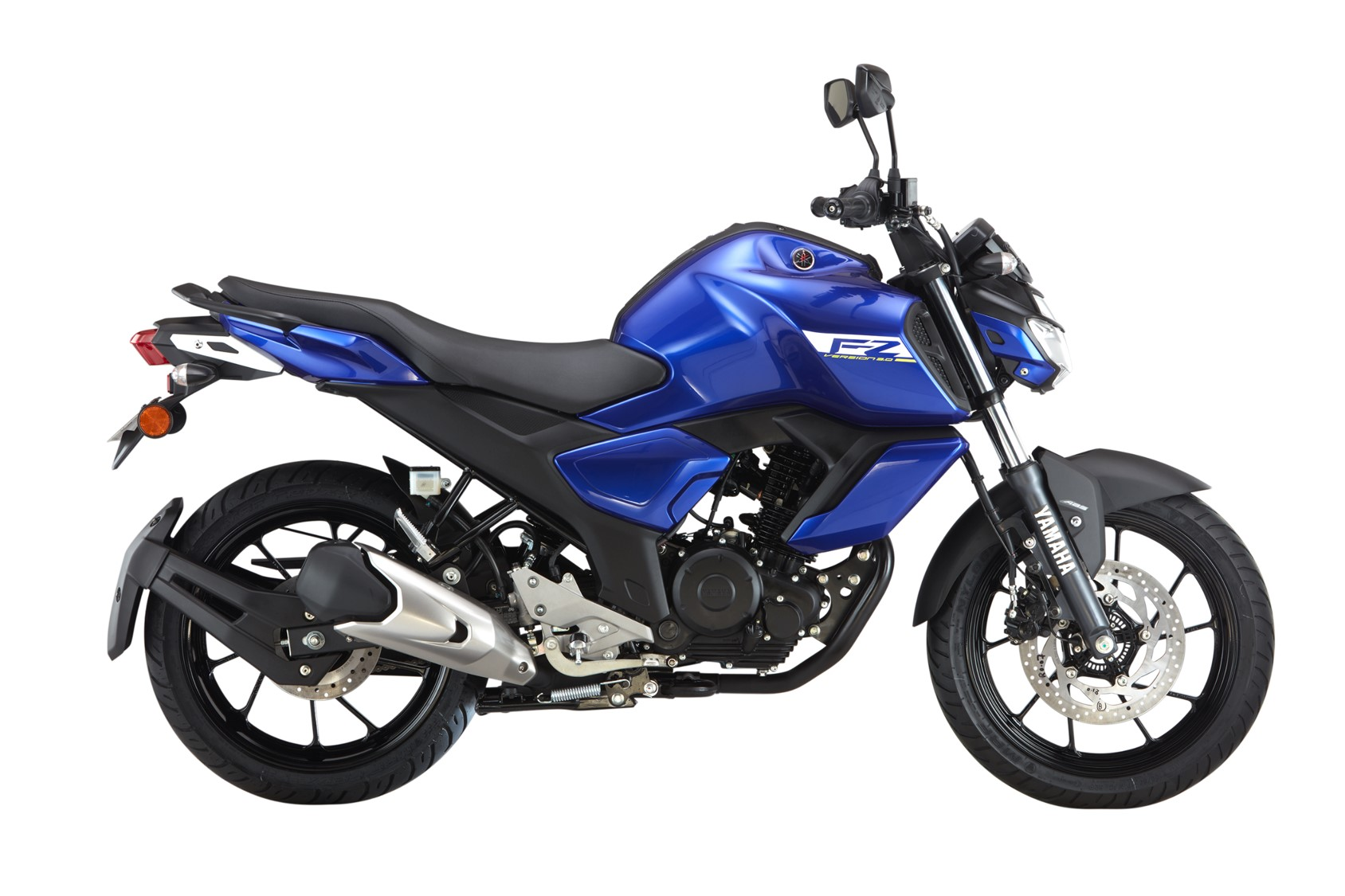 Yamaha FZ FI V3.0 Blue Color - Racing Blue
