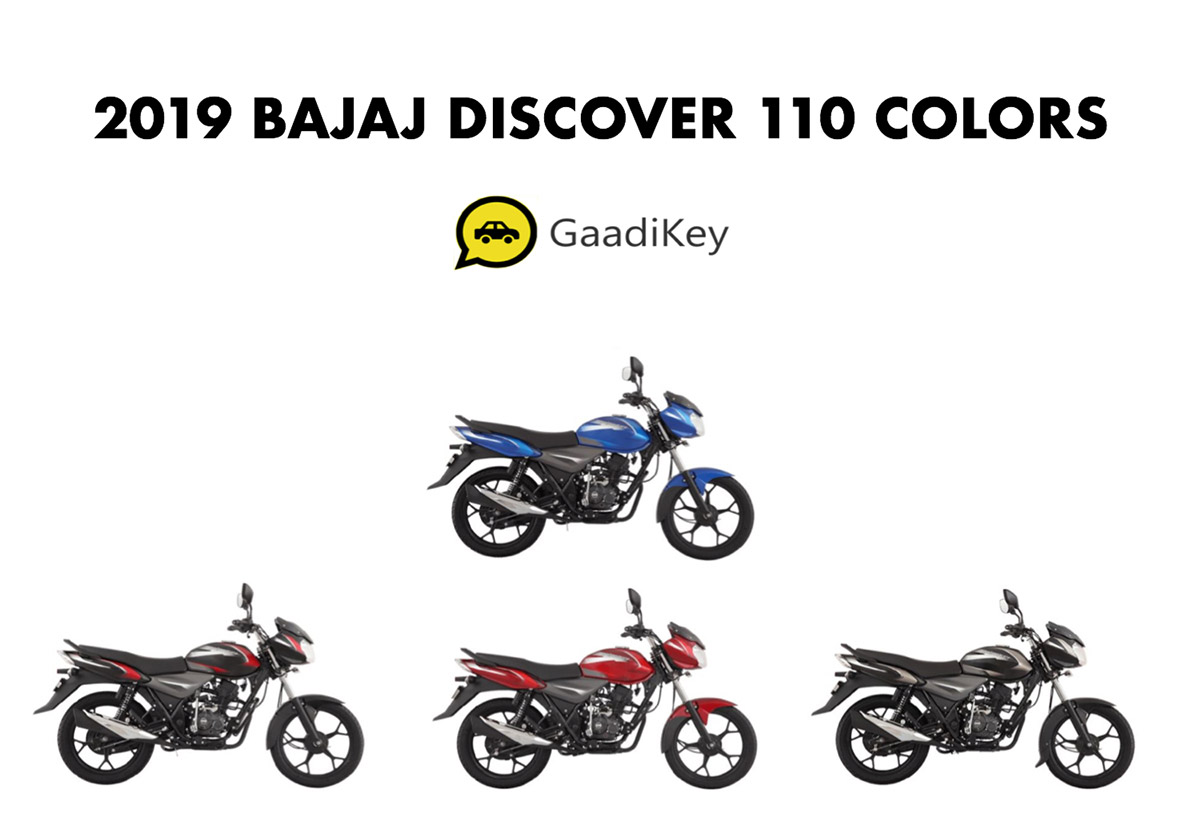 2019 Model Bajaj Discover 110 Colors