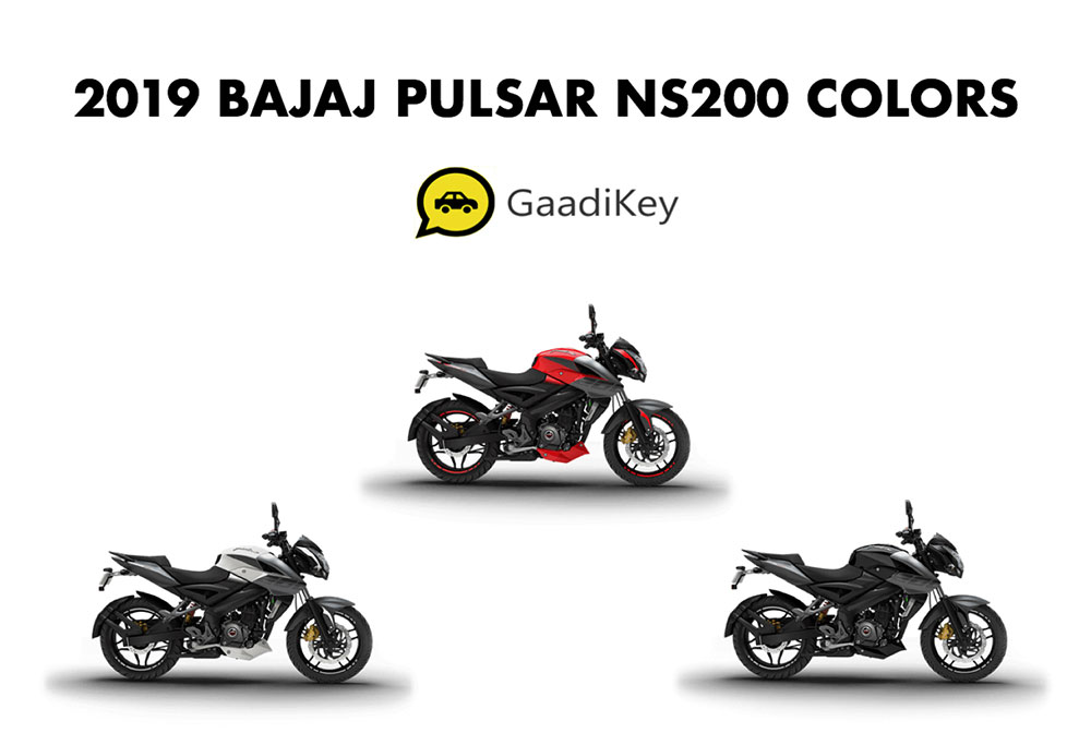 2019 Model Bajaj Pulsar NS200 Colors