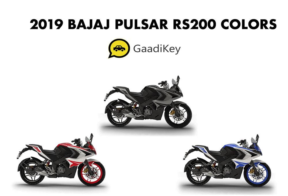 2019 Pulsar RS200 Colors