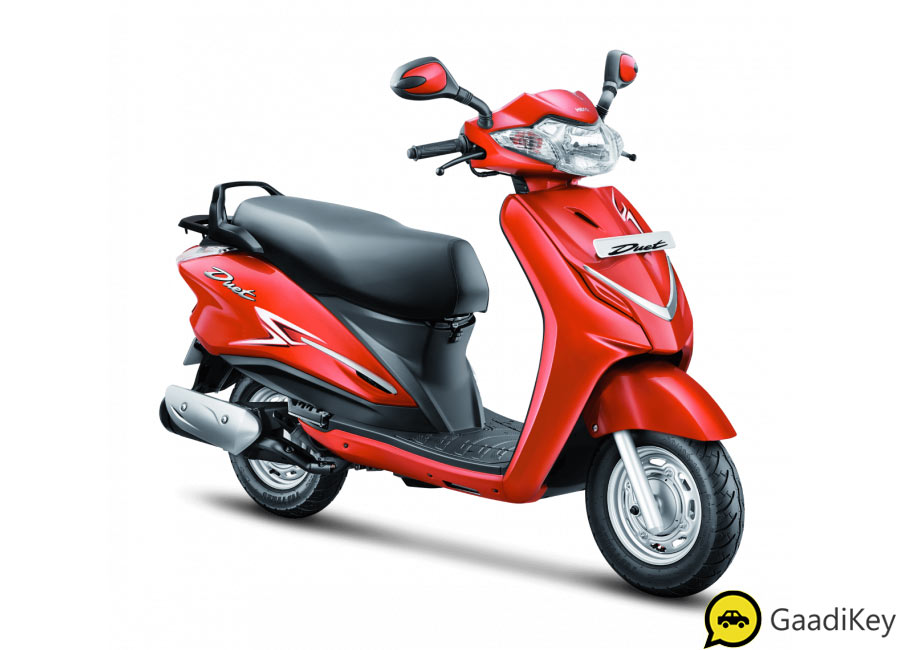 2019 model Hero Duet Red Color - 2019 Hero Duet in Red Color option