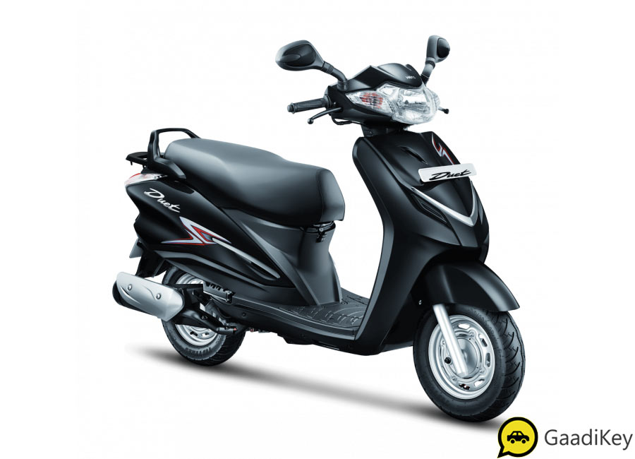2019 Hero Duet Black Color option - All New Hero Duet 2019 Model Black Color - New 2019 model Hero Duet in Black Color