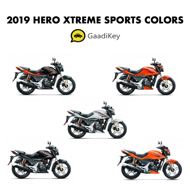 2019 Hero Xtreme Sports Color