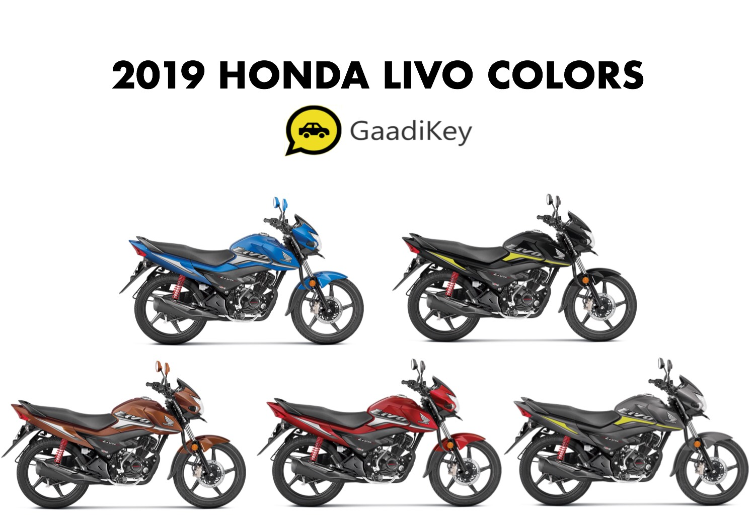 2019 Honda Livo Colors - New 2019 Model Honda Livo Colours