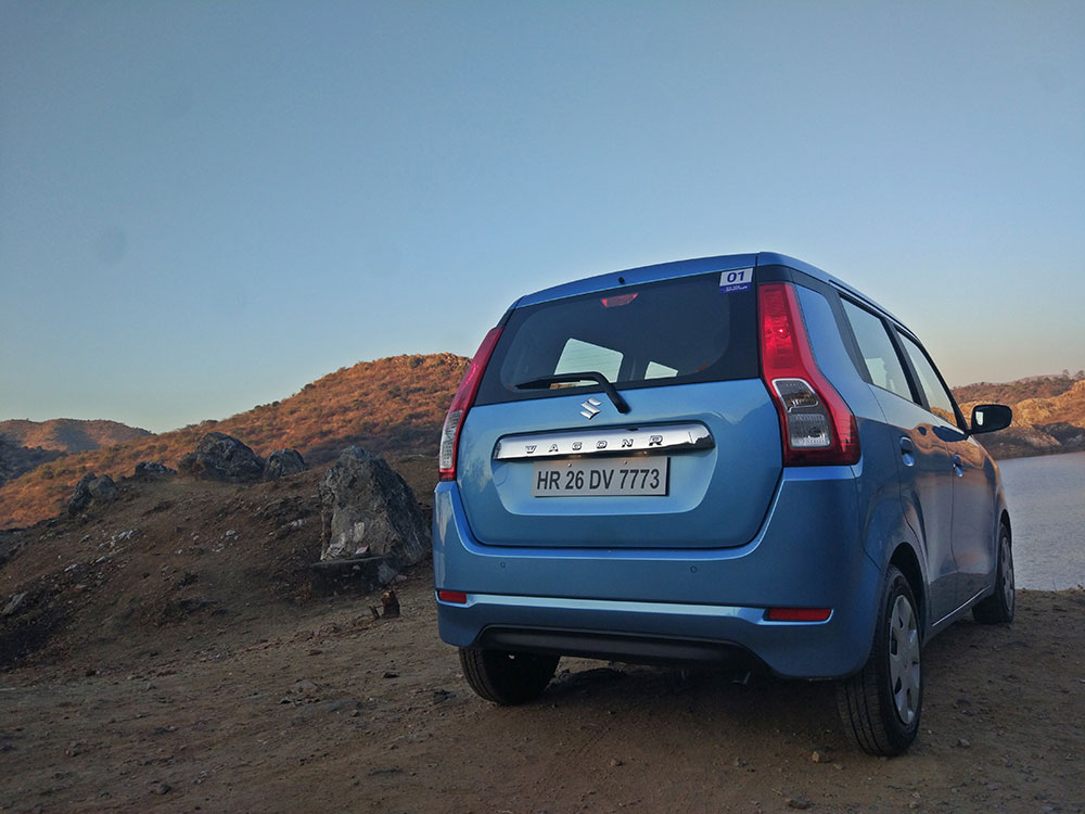 2019 Maruti Wagon R Big Rear View Picture