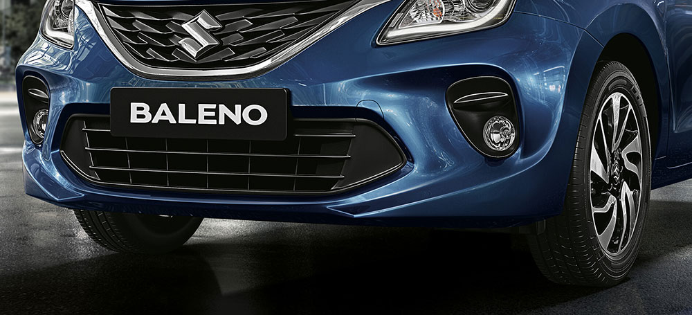2019 Maruti Baleno Variants New Front Grille