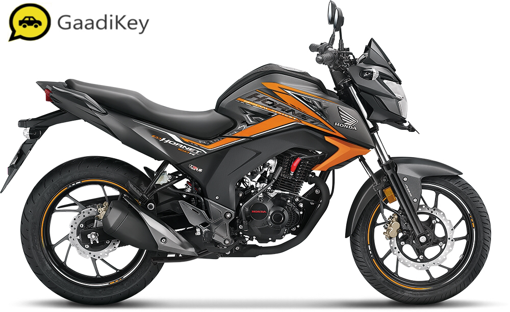 2019 Honda Hornet 160R in Mars Orange color