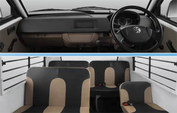 2019 Ashok Leyland Dost Express Interiors