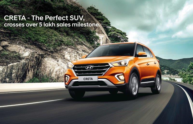 Hyundai India Cumulative Sales February 2019