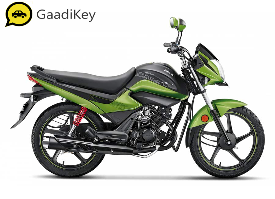 2019 Hero Splendor iSmart Plus in Leaf Green colour