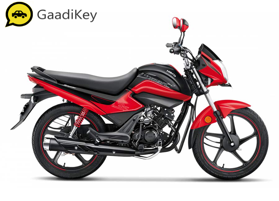 2019 Hero Splendor iSmart Plus in Sports Red colour