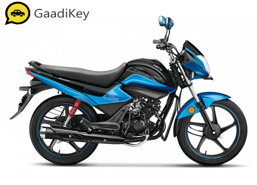 2019 Hero Splendor iSmart Plus in Techno Blue colour