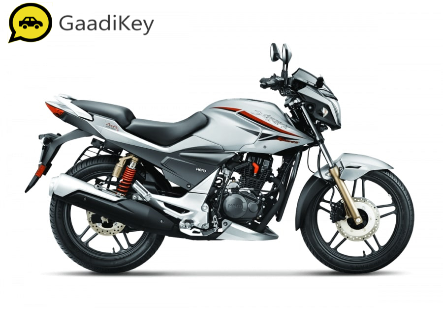 2019 Hero Xtreme Sports in Mercuric Silver color