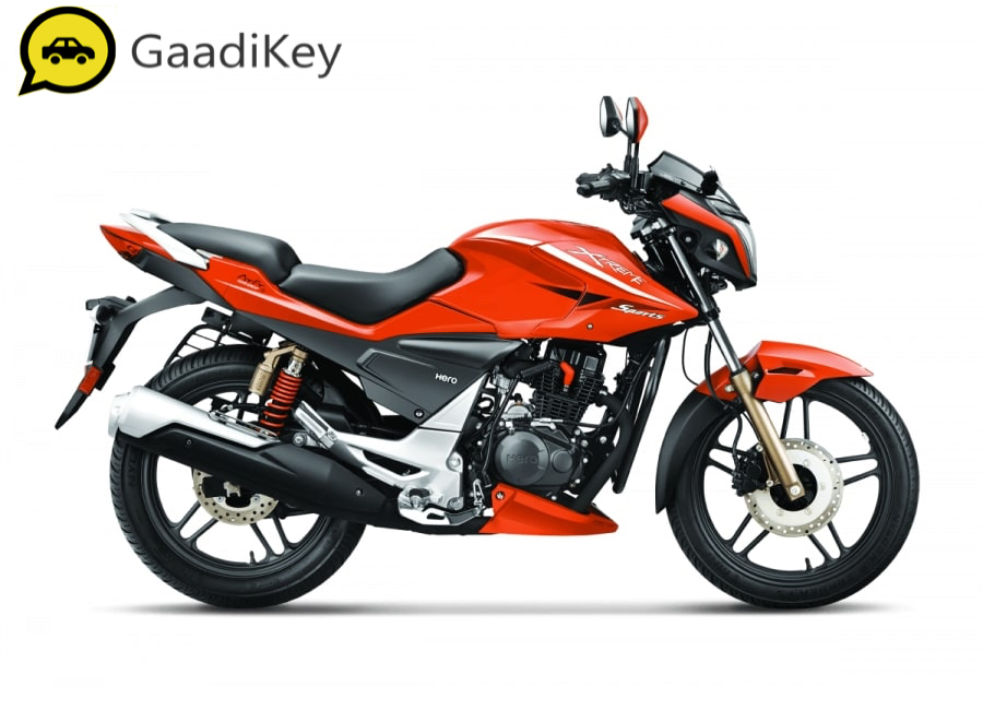 2019 Hero Xtreme Sports in Fiery Red color